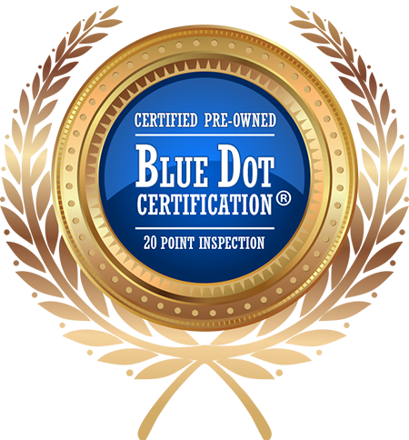 Official Blue Dot Certified Approved Vendor